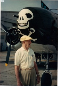 Commander of the 312th Bomb Group. He was 90 years old in this picture.