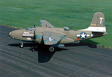 Douglas A20G Havoc Attack Bomber -WWII (http://en.wikipedia.org/wiki/A-20_Havoc)