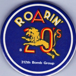 Insignia of the 312th Bomb Squadron WWII