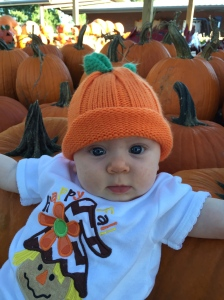 They said I was the cutest pumpkin in the patch!